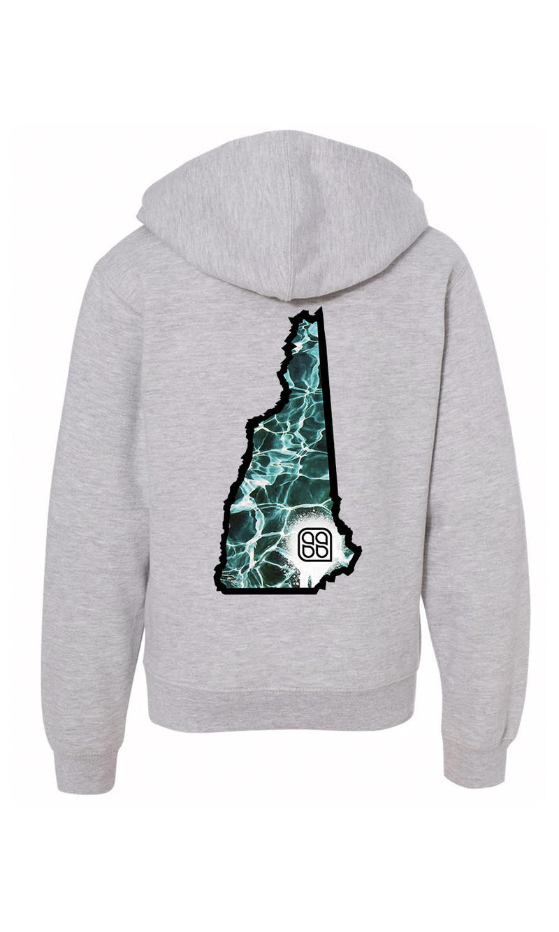 SS Gear - Water Men's Hoodie Heather Grey