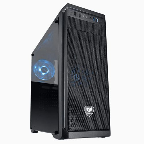 Cougar MX330-S Midi Tower (Blue Fan)