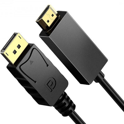Generic DisplayPort (Male) to HDMI (Male) Cable