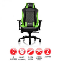 Gaming chair GT Comfort Green and Black