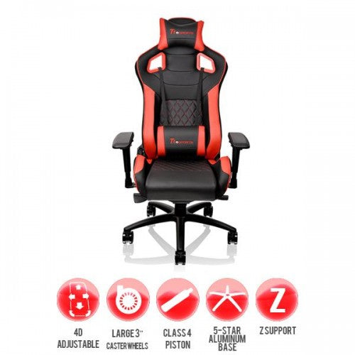 Gaming chair GT Fit Red and Black