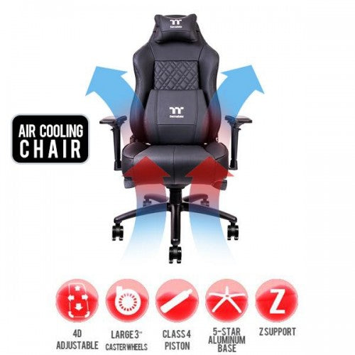 TTESPORTS X COMFORT AIR GAMING CHAIR BLACK