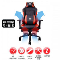 TTESPORTS X COMFORT AIR GAMING CHAIR BLACK & RED