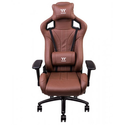 Thermaltake X FIT TT Premium Edition Real Leather Gaming Chair - Brown