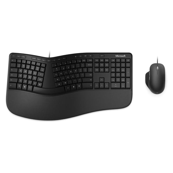 Microsoft Modern Ergonomic Desktop Keyboard and Mouse