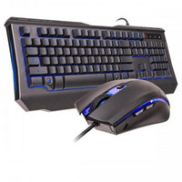 Knucker Elite Multicolor Keyboard and Mouse Combo