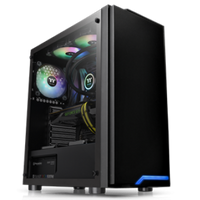 Thermaltake H100 Glass Mid Tower ATX Case