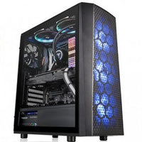 Thermaltake Versa J24 Tempered Glass RGB Edition Mid Tower Case