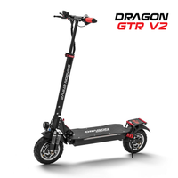 Dragon V2 - Powerful OFF-ROAD Electric Scooters -DUAL MOTOR delivering 1600w,  with a peak of 2400w