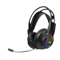Dragon War RGB Lighting effect and Light Weight Gaming Headset  G-HS-0133