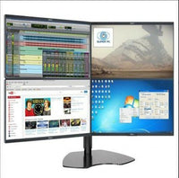 Quad Screen Monitor Mounting  Bracket Stand
