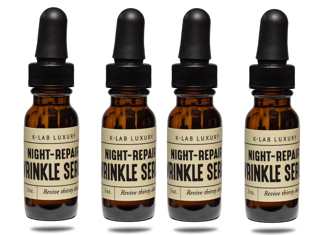 Night-Repair Wrinkle Serum - 4 pack