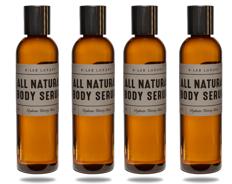 4 Pack - All Natural Body Serum