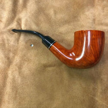 Load image into Gallery viewer, Thomas Cristiano Handmade Signature Unfiltered Unsmoked Italian Briar Wood Pipe