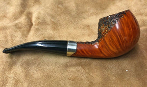 Thomas Cristiano Handmade Signature Unfiltered Unsmoked Italian Briar Wood Pipe