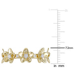 1/4 CT Diamond TW Fashion Ring 10k Yellow Gold