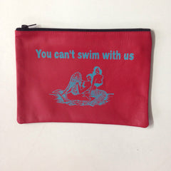 RED HANDHELD / YOU CANT SWIM WITH US