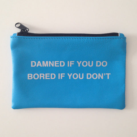 TURQUOISE COINPURSE / DAMNED