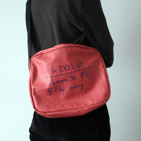 PINK SCHOOLBAG / TO-DO LIST