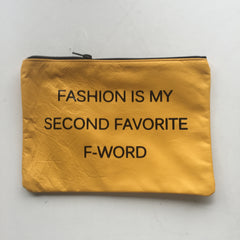 YELLOW HANDHELD / FASHION