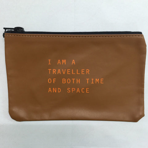 TAN COINPURSE / TIME TRAVELLER