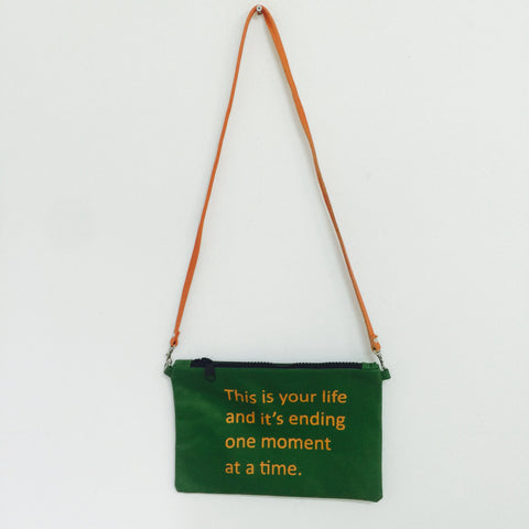 GREEN CROSSBODY / THIS IS YOUR LIFE
