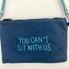 BLUE CROSSBODY / YOU CANT SIT