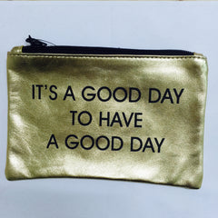 GOLD COINPURSE / GOOD DAY