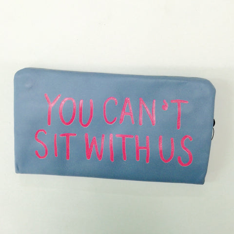 PALE BLUE  WALLET /  SIT WITH US