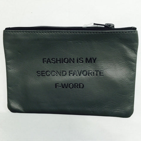 GREY COINPURSE / FASHION