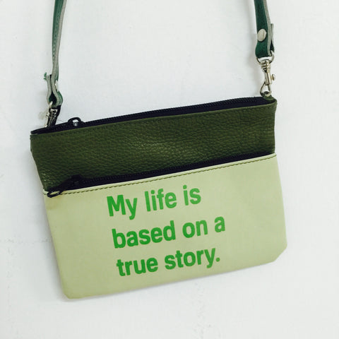GREEN MINI CROSSBODY / MY LIFE