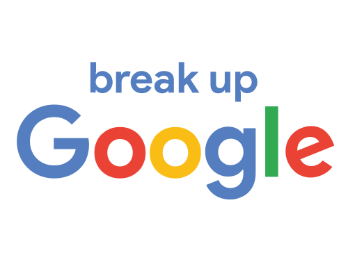 Break up Google Logo