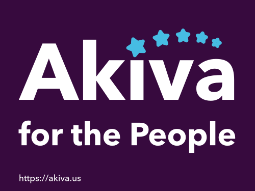 Akiva for the People Logo