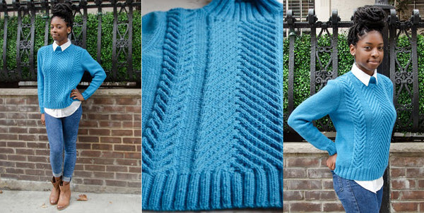 Cable Chic Pullover