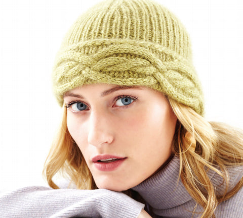 36f6df34298 The Chunky Air Hat is knit in Zealana AIR Chunky