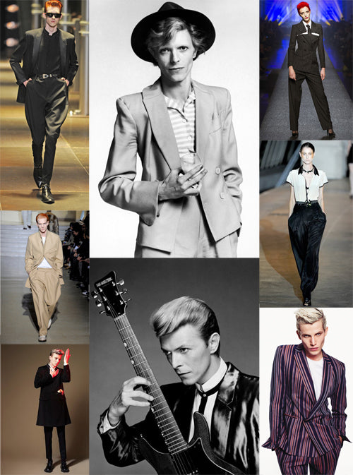 Thin White Duke Collage