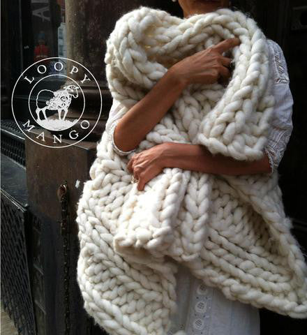 The Nantucket Throw DIY Kit has everything you need to make a giant 75c0508b54e1