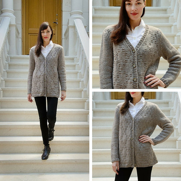 Boyfriend Diamond Cardigan