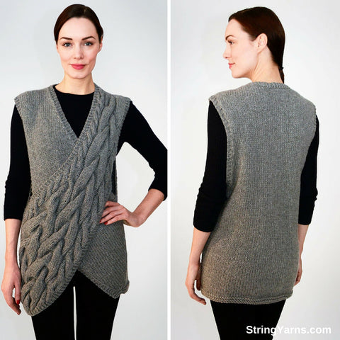 String Yarns Criss Cross Vest
