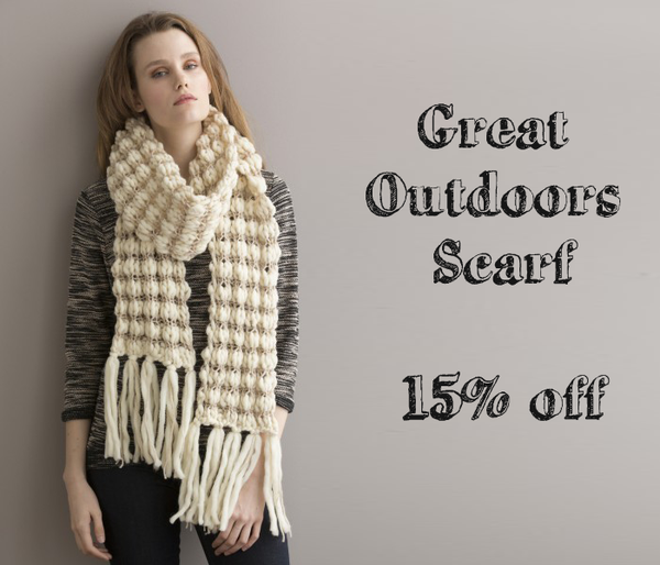 String Yarns Great Outdoors Scarf