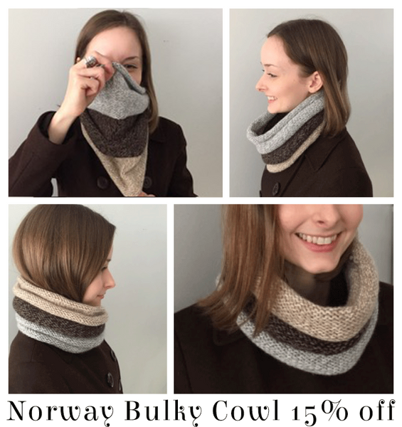 String Yarns Norway Bulky Cowl