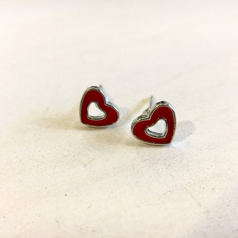 Teeny Love Heart Earrings