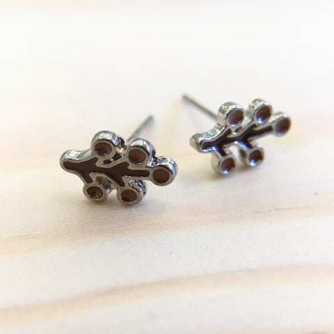 Teeny Autumn Branch Earrings