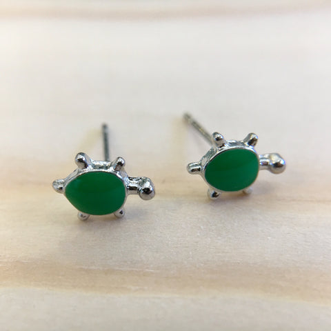 Teeny Turtle Earrings