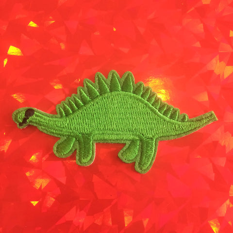 Stevie The Stegosaurus Patch