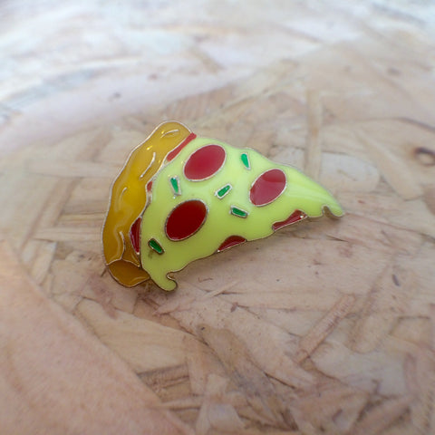 Pizza By The Slice Pin