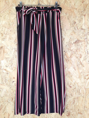 Stripe Contrast Trousers