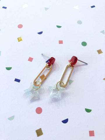 Berries And Stars Earrings