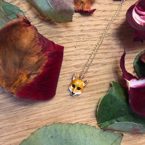 Little Fox Necklace