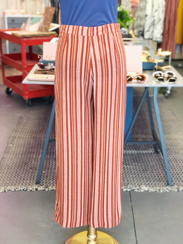 Rust Stripe Trousers